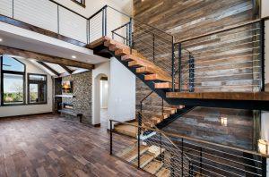 Custom Home Staircase